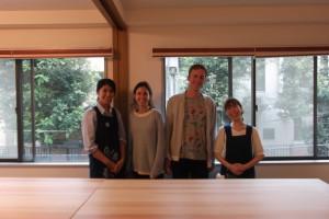 Memorable first guests of Tokyo studio.